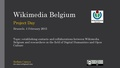 S.Caneva - WikiBE Project Day - Brussels 4 february 2015.pdf