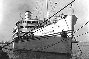 Zim Integrated Shipping Services - SS Kedma, ZIM's first ship in 1947