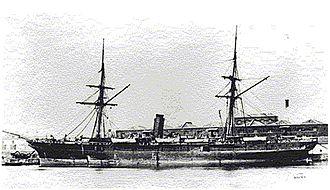 Manwel Dimech - Italian S.S. Stura on which Dimech was exiled
