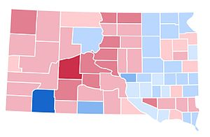 United States presidential election in South Dakota, 1992