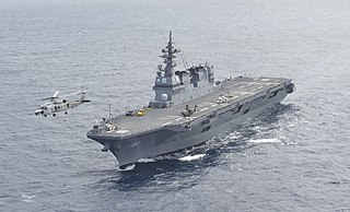 Helicopter carrier type of aircraft carrier