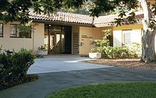 Photo of Stanford Humanities Center building