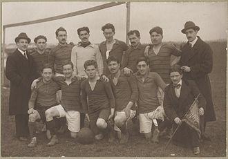 Stade Malherbe Caen - Stade Malherbe team in 1919