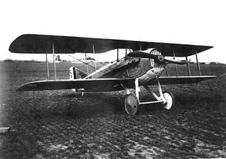 SPAD S.XIII - Image: SPAD S.XIII Front