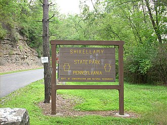 Shikellamy State Park - The entrance to Shikellamy State Park's scenic overlook