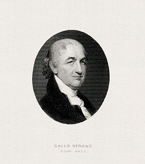 Caleb Strong Massachusetts lawyer, governor, and US senator