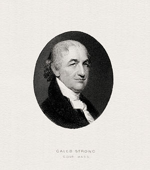 Caleb Strong - Image: STRONG, Caleb (ABNC engraved portrait)