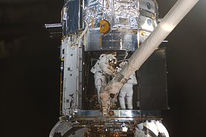 International Space Station program - The only non-ISS-related Shuttle flight between 2005 and 2011 was a Hubble Space Telescope servicing mission on STS-125.