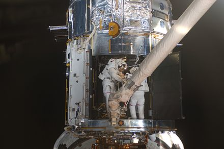 nasa building the hubble space telescope - HD4288×2848