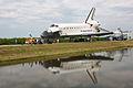 STS-135 Atlantis towback 3 (5963051509).jpg