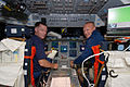 STS-135 Chris Ferguson and Doug Hurley on the flight deck.jpg
