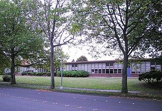 Shorewood High School (Washington) - 1950s-era classroom wing (demolished 2012)