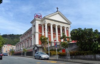Sacred Heart Cathedral, Wellington - The Cathedral in 2015