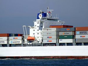 Safmarine Nomazwe p19 approaching Port of Rotterdam, Holland 19-Apr-2007.jpg