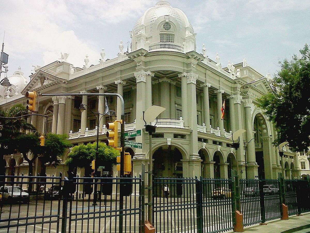 Palacio municipal de guayaquil wikipedia la for Casas municipio guayaquil