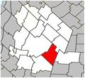 Saint-Dominique Quebec location diagram.PNG