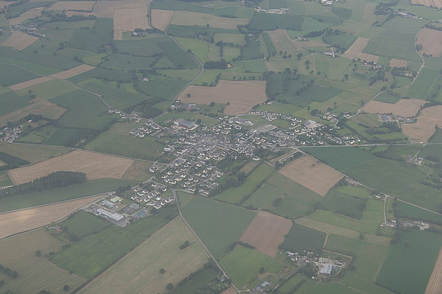 Aerial view of Saint-M'Hervé.