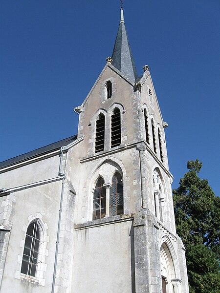 Église Saint-Privat, Saint-Pryvé-Saint-Mesmin, Loiret, France
