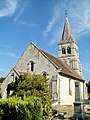Saint-Vaast-de-Longmont (60), église Saint-Vaast, façade ouest.jpg