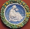 Saint Gregory by Andrea della Robbia, Florence, c. 1490, glazed terracotta - Bode-Museum-Berlin.jpg