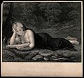 Saint Mary Magdalen. Engraving by J.C Armytage after A. Alle Wellcome V0032707.jpg