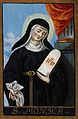 Saint Monica. Gouache. Wellcome V0033329.jpg