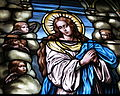 Saint Paul Church (Yellow Springs, Ohio) - stained glass, Immaculate Conception.JPG