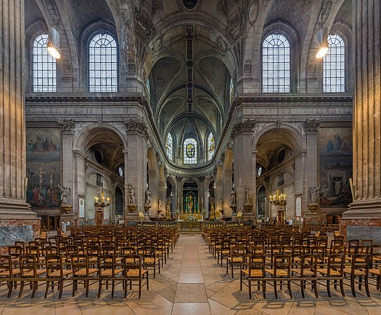 Saint Sulpice Church Interior 1, Paris, France - Diliff.jpg