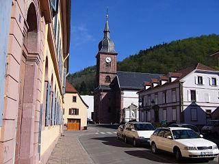 Sainte-Croix-aux-Mines Commune in Grand Est, France