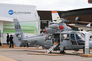 Bulgarian Navy - Bulgarian Eurocopter AS565 Panther in Paris Air Show