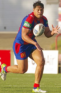 Sam Mataora Cook Islands rugby league player