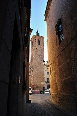 Iglesia de San Andrés, Toledo - Tower of the church