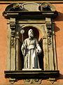 San Benedetto, facade, statue (Bologna).JPG