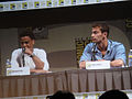 San Diego Comic-Con 2011 - Underworld Awakening panel - Michael Ealy and Theo James.jpg