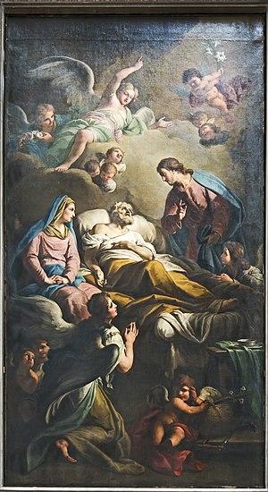 Francesco Maggiotto - Death of Saint Joseph (1805) by Francesco Maggiotto, San Geremia