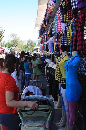 San Jose Flea Market - Vendors at the San Jose Flea Market