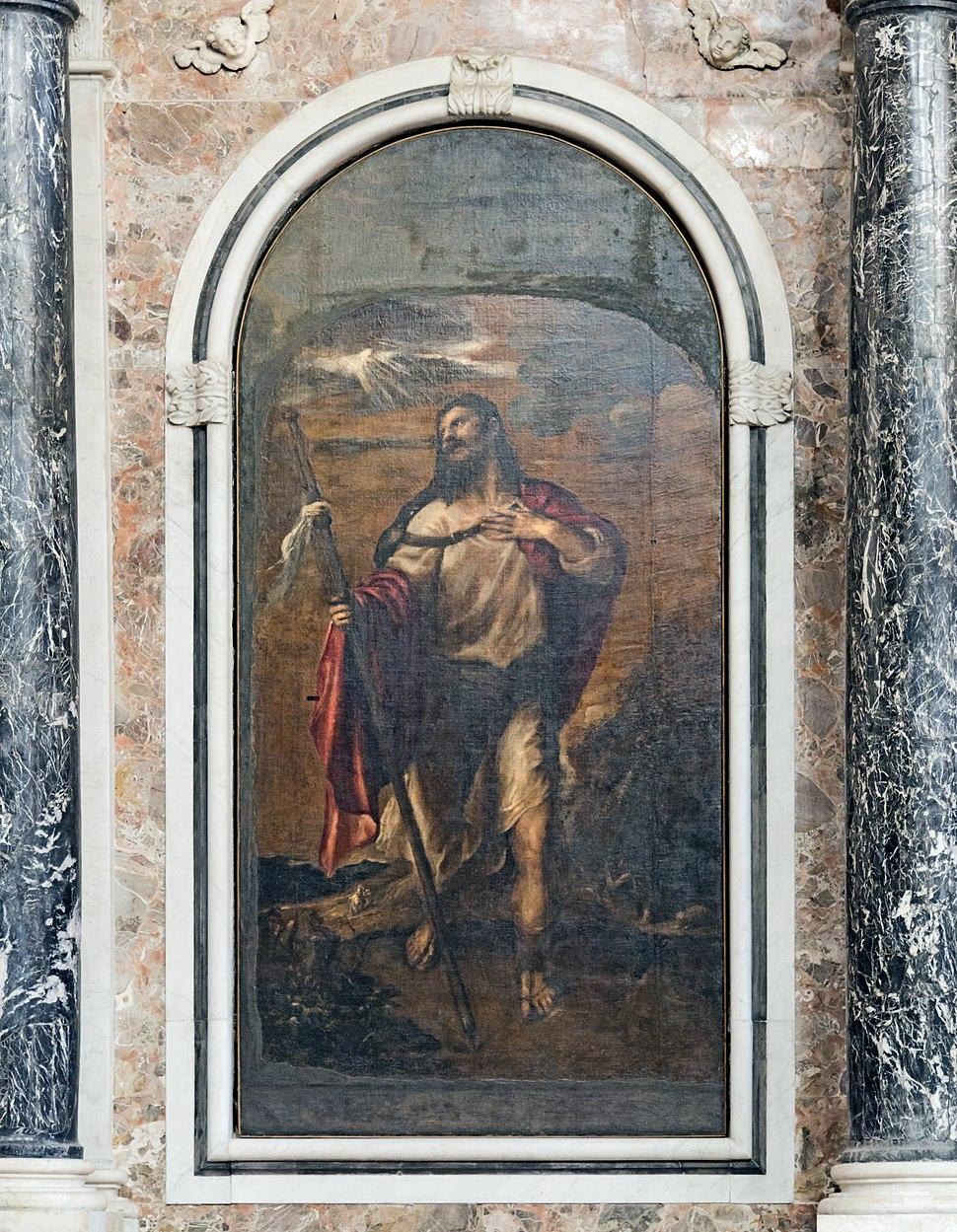 San Lio (Venice) - Pale d'altare - Apostolo Giacomo il maggiore - Tiziano - 1558