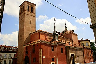 San Pedro el Real, Madrid - Image: San Pedro el viejo Madrid