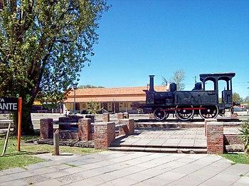 San Rafael Estacion de tren y Plaza de los Inmigrantes