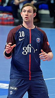 Sander Sagosen Norwegian handball player