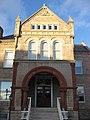 Sandusky County Jail and Sheriff's House, entrance.jpg