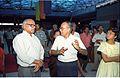 Sankar Sen and Saroj Ghose - Dinosaurs Alive Exhibition - Science City - Calcutta 1995-06-15 212.JPG