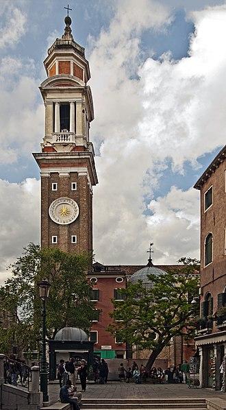 Santi Apostoli, Venice - Image: Santi Apostoli (Exterieur)