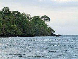Ponta Figo - The shores in the vicinity of Ponta Figo