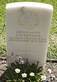 Sapper J R Russell gravestone in the Wagga Wagga War Cemetery.jpg