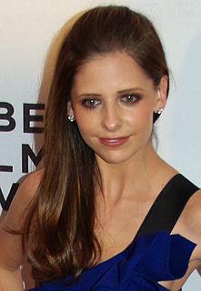 Sarah Michelle Gellar American actress