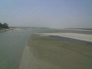 Sarayu - Image: Sarayu River