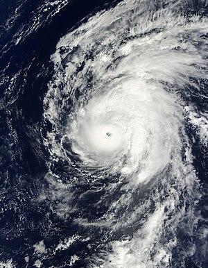 Hurricane Neki - Image: Satellite image of Hurricane Neki on October 21