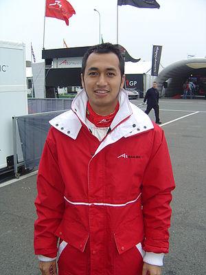 Satrio Hermanto - Hermanto in 2007.