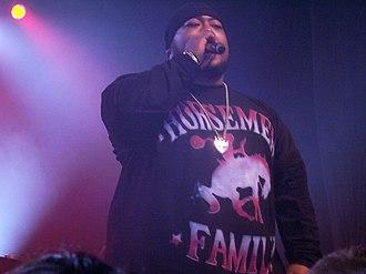 Savage (rapper) - Savage performing in Adelaide, Australia, in June 2007.